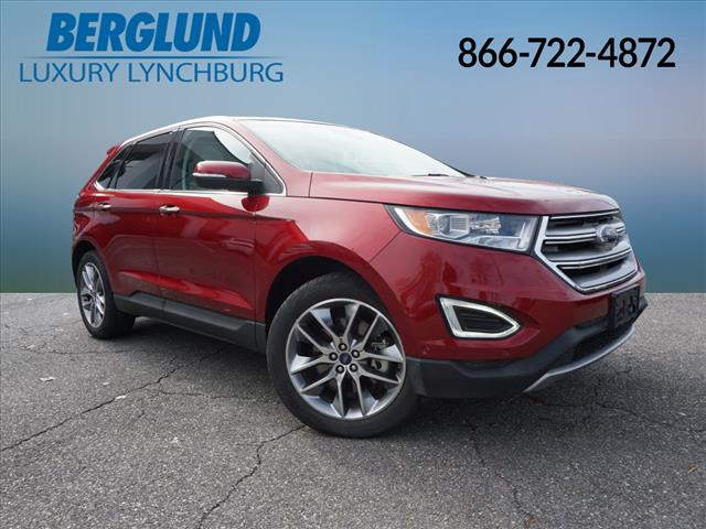 Pre-Owned 2015 Ford Edge Titanium Front-wheel Drive