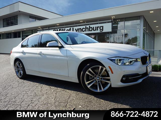 Pre-Owned 2018 BMW 3 Series i Rear-wheel Drive Sedan