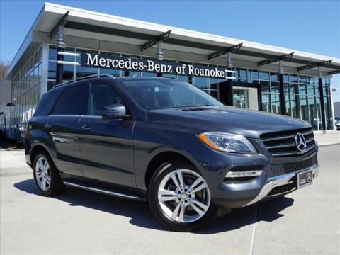 Certified Pre-Owned 2015 Mercedes-Benz M-Class ML 350 All-wheel Drive 4MATIC®