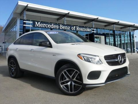 Certified Pre-Owned 2017 Mercedes-Benz GLE AMG® GLE 43 Coupe All-wheel Drive 4MA