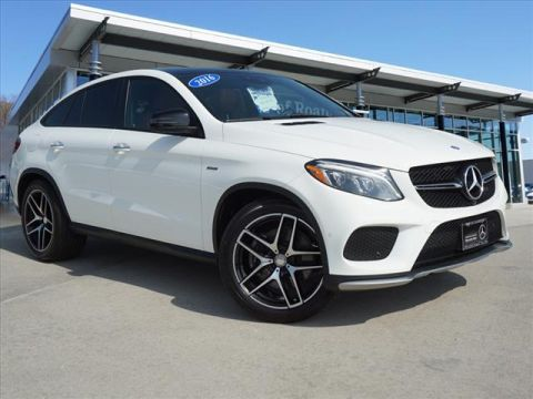 Certified Pre-Owned 2016 Mercedes-Benz GLE GLE 450 AMG® Coupe All-wheel Drive 4M