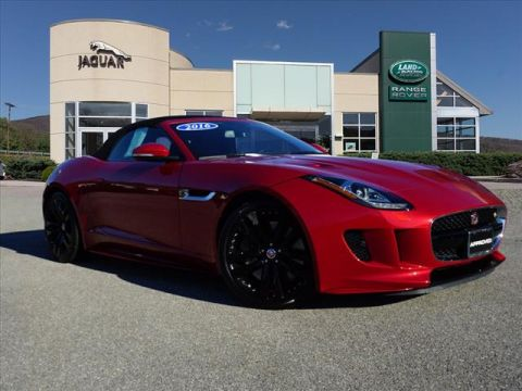 Pre-Owned 2016 Jaguar F-TYPE S All-wheel Drive Convertible
