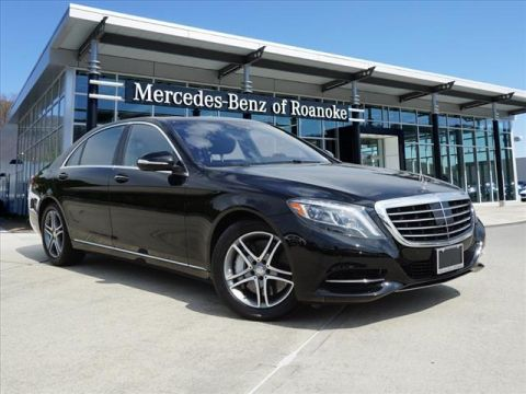 Certified Pre-Owned 2016 Mercedes-Benz S-Class S 550 All-wheel Drive 4MATIC® Sedan