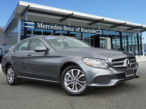 Pre-Owned 2018 Mercedes-Benz C-Class C 300 All-wheel Drive 4MATIC® Sedan