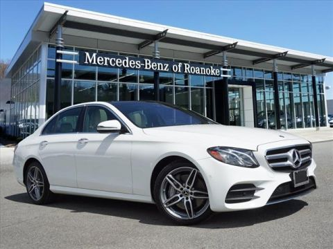Pre-Owned 2018 Mercedes-Benz E-Class E 300 All-wheel Drive 4MATIC® Sedan