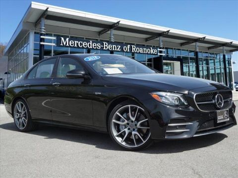 Certified Pre-Owned 2018 Mercedes-Benz E-Class AMG® E 43 All-wheel Drive 4MATIC® Sed