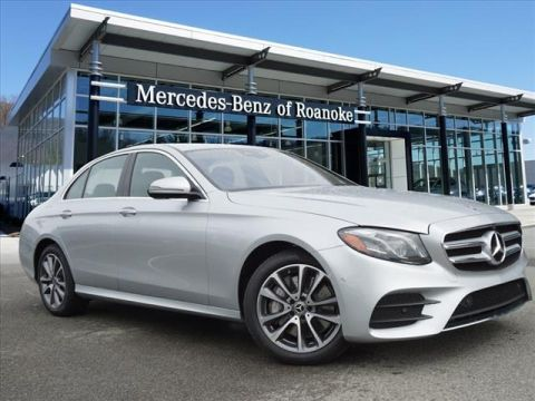 New 2019 Mercedes-Benz E-Class E 450 All-wheel Drive 4MATIC® Sedan